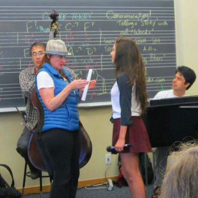 Madeline Eastman @ Stanford Jazz Workshop