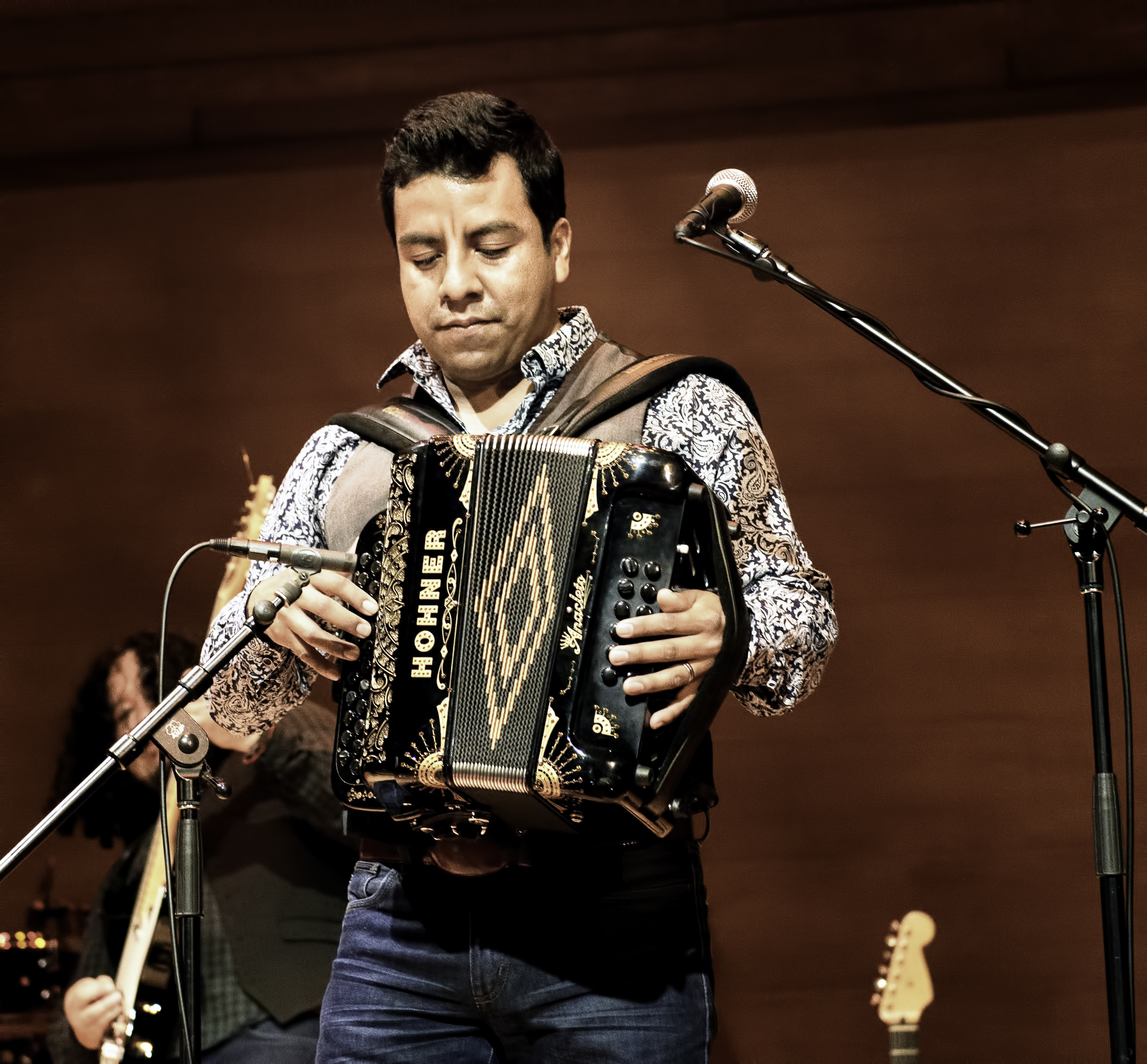 Jose Carlos with Santa Cecilia At The Musical Instrument Museum (MIM) In Phoenix