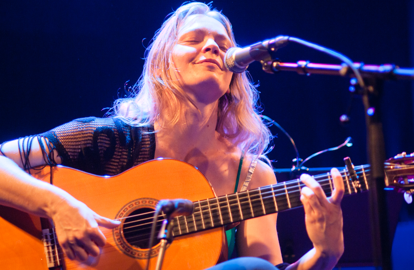 Bettina Flater at the Oslo Jazz Festival Jam Sessions