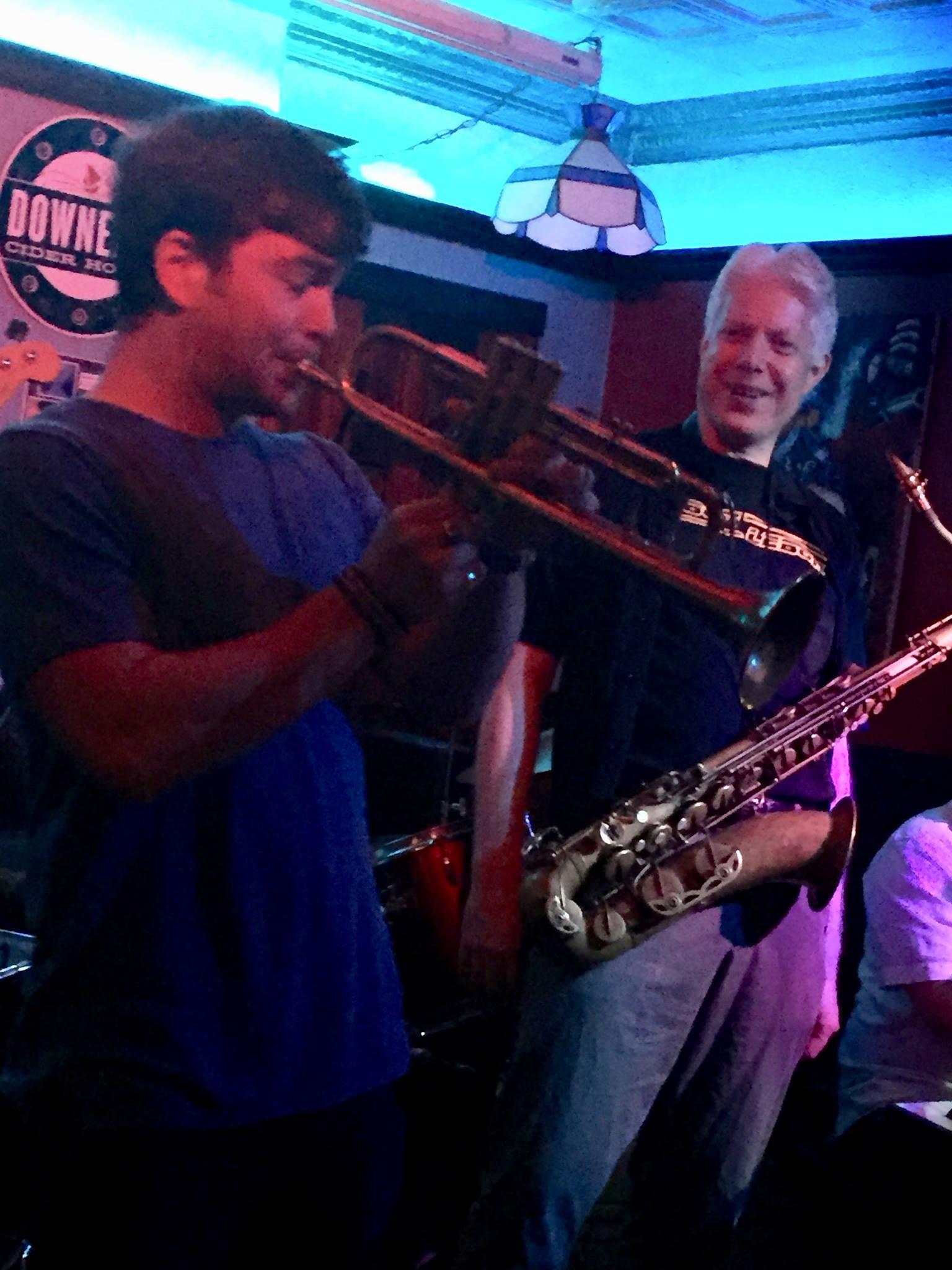 Rev Chris Quintet Horns