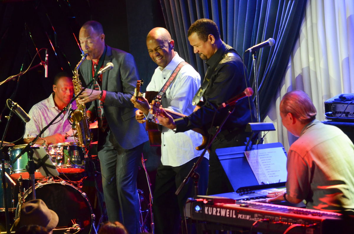 Earl Klugh at the Blue Note Jazz Club