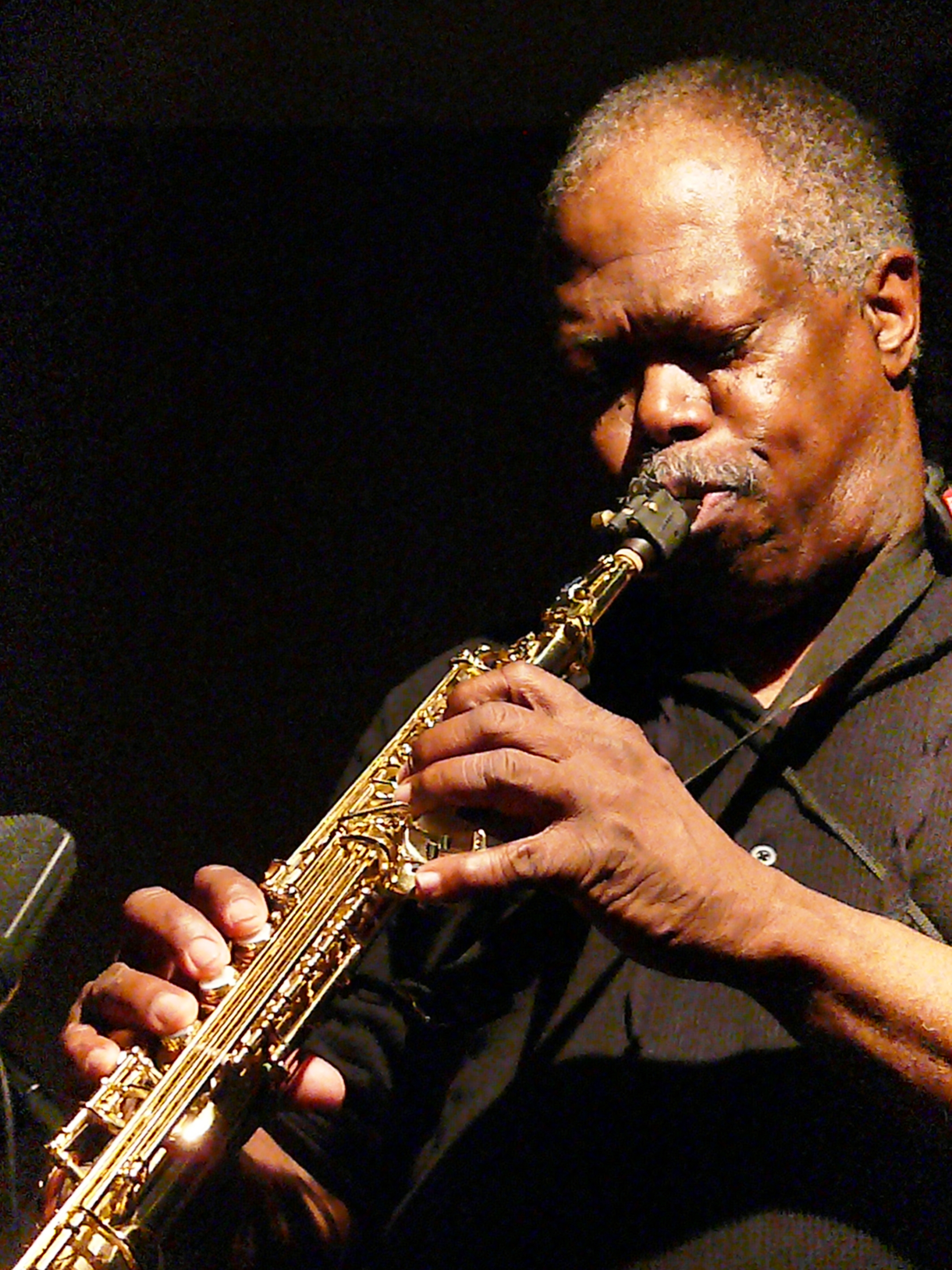Joe McPhee at Cafe Oto, London in March 2012