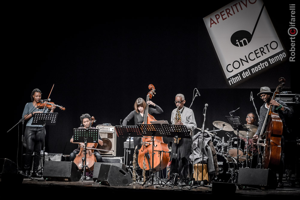 Roscoe Mitchell Sextet Plays Coltrane, Aperitivo in Concerto, Teatro Manzoni, Milan, Italy, 29 January 2017