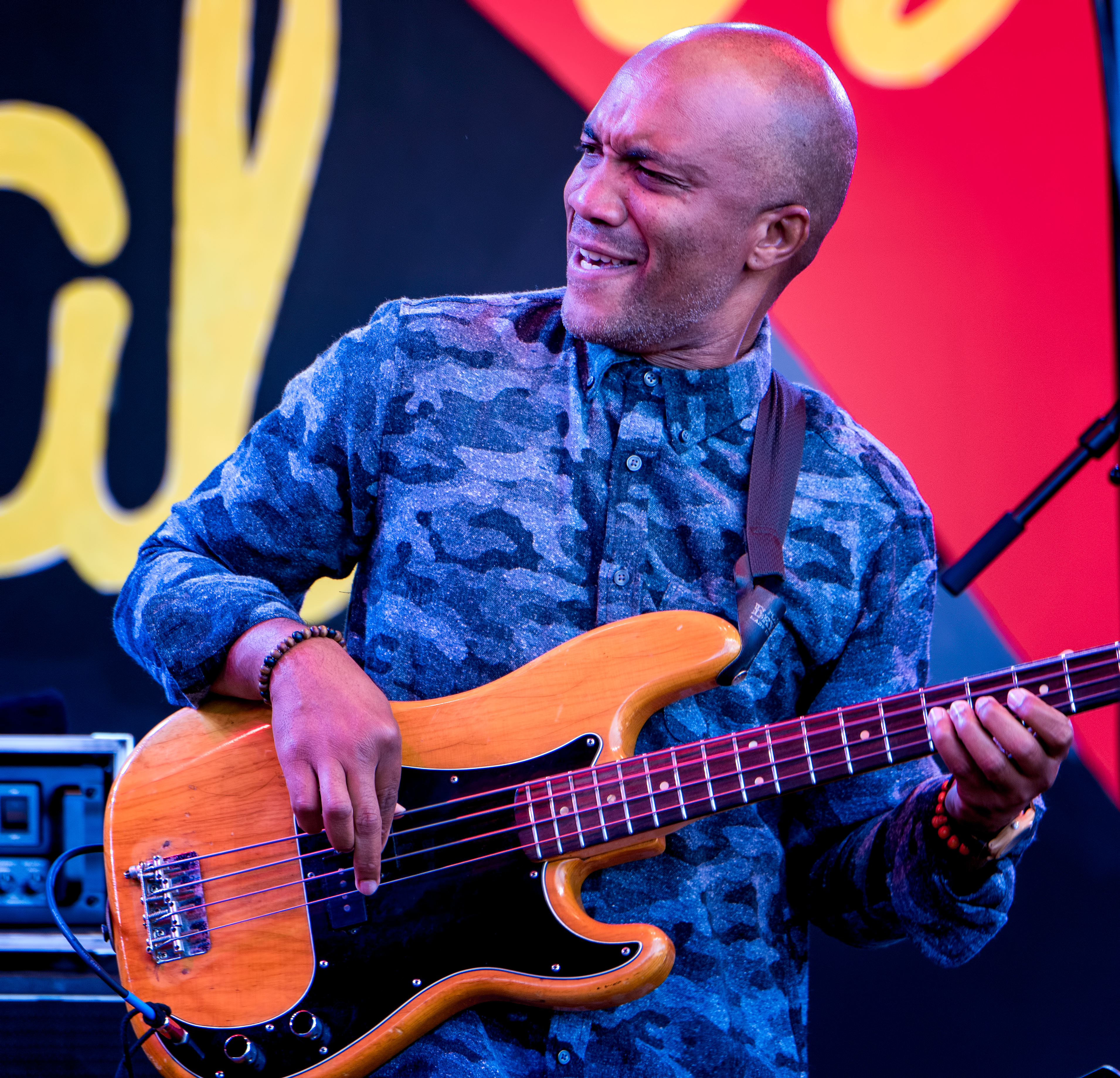 Reuben Rogers with Charles Lloyd and the Marvels at the Monterey Jazz Festival 2018