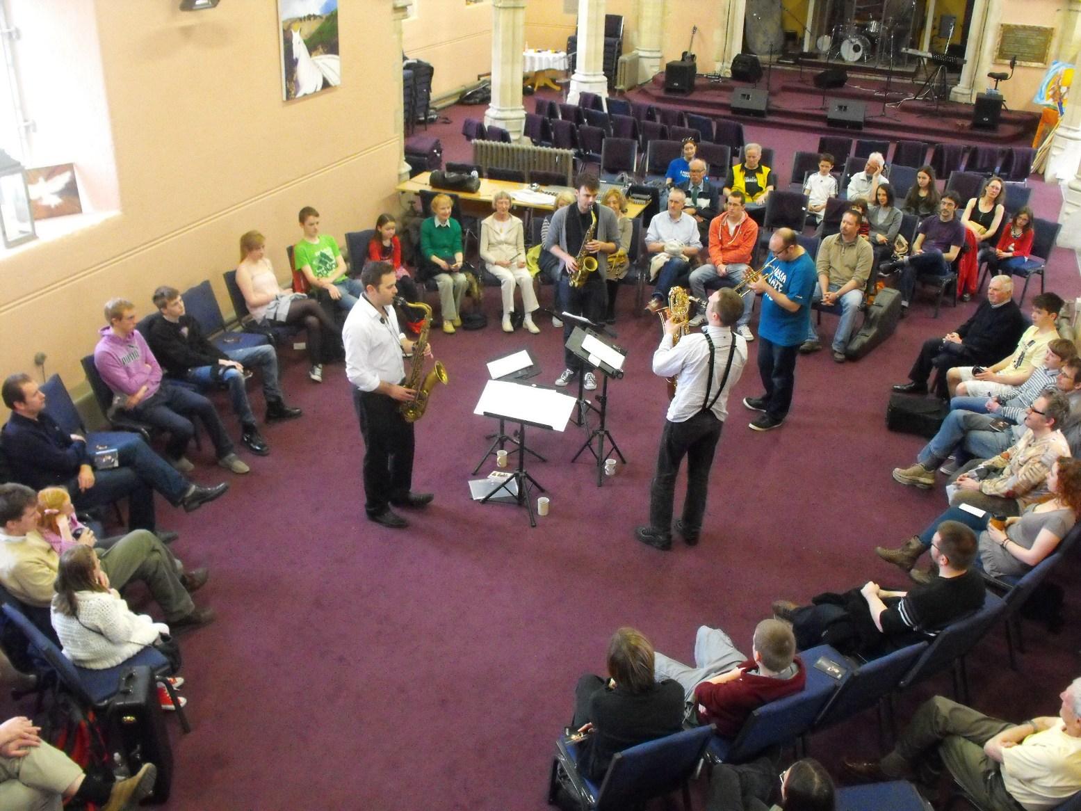Brass jaw workshop, bray jazz 2013