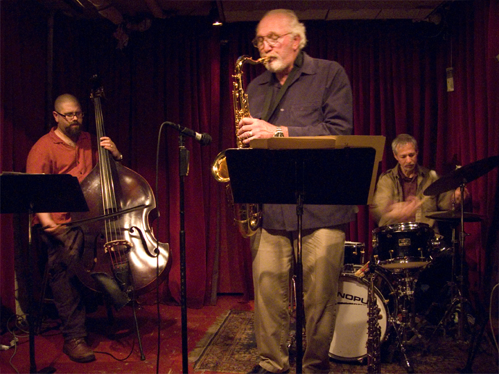Joe Giardullo's Language of Swans (w/Reuben Radding and Todd Capp) - Cornelia St. Cafe 2008