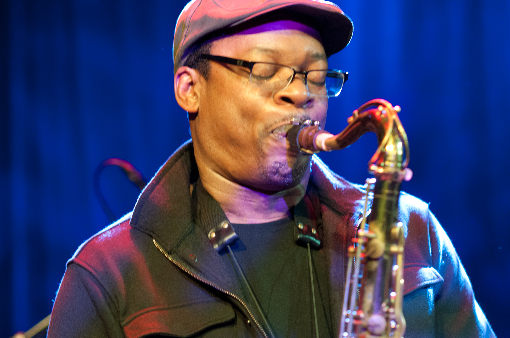 Ravi Coltrane at the Winter Jazzfest 2012