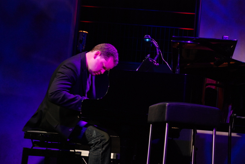 Tony Foster at the Piano Taking a Solo at Moods