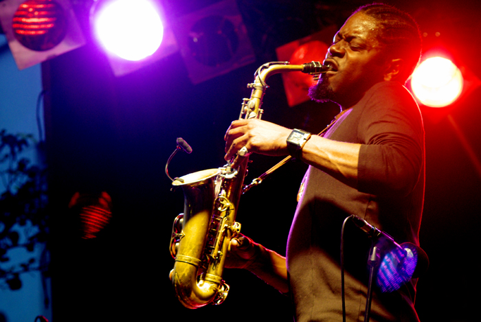 Soweto Kinch, Imperial Wharf Jazz Festival, London