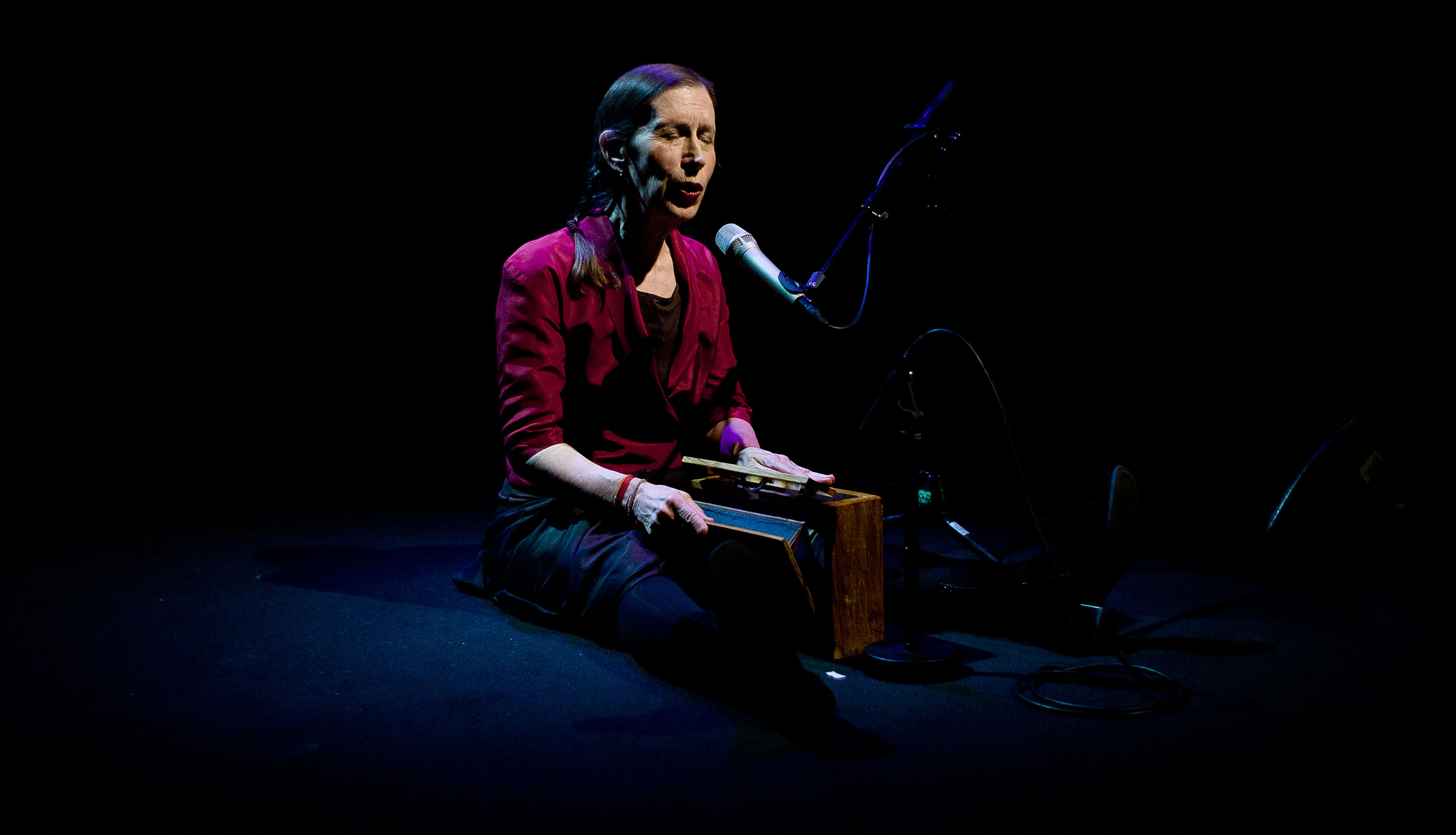 Meredith Monk Performs at Ecm: A Cultural Archeology Exhibition, Munich, Germany December 2012