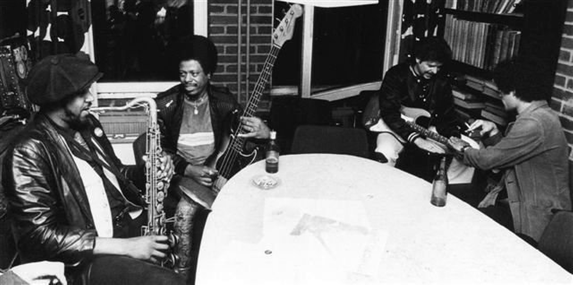 1983 European Tour with Jimmie Smith, Kerman Frazier, Detroit Gary Wiggins, Lefty DIZZ, Chris Rannenberg and Nick Charles