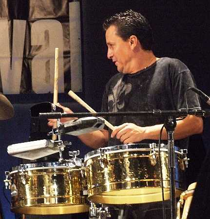 2007 Chicago Jazz Festival, Friday: Karl Perazzo in That Tribute Set to the Late Hilton Ruiz