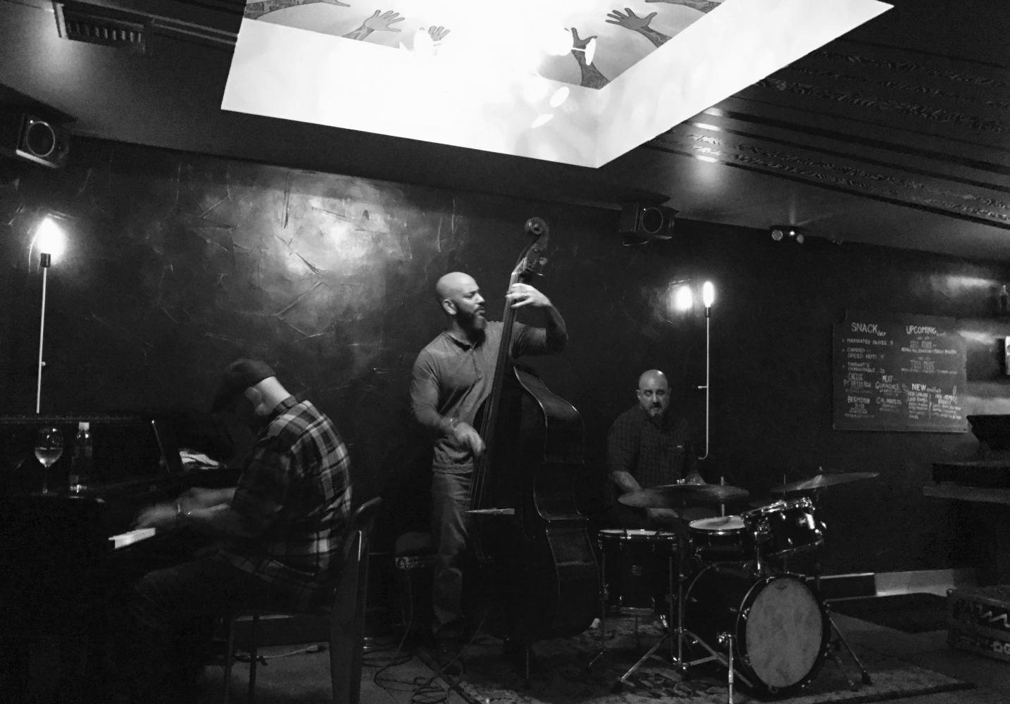 Eric Revis Trio at E.T.A.