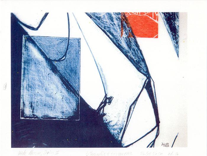 "Bill Dixon Gallery: ""L'Opera I (Xylogravure)"""