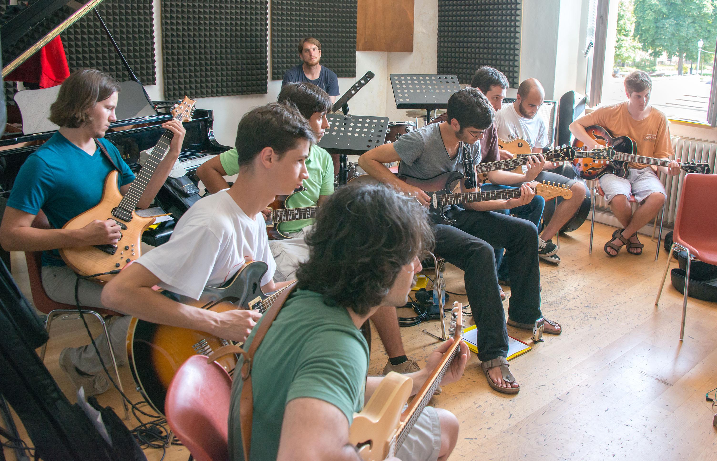 Nir felder guitar class, 2013 siena jazz academy summer workshop