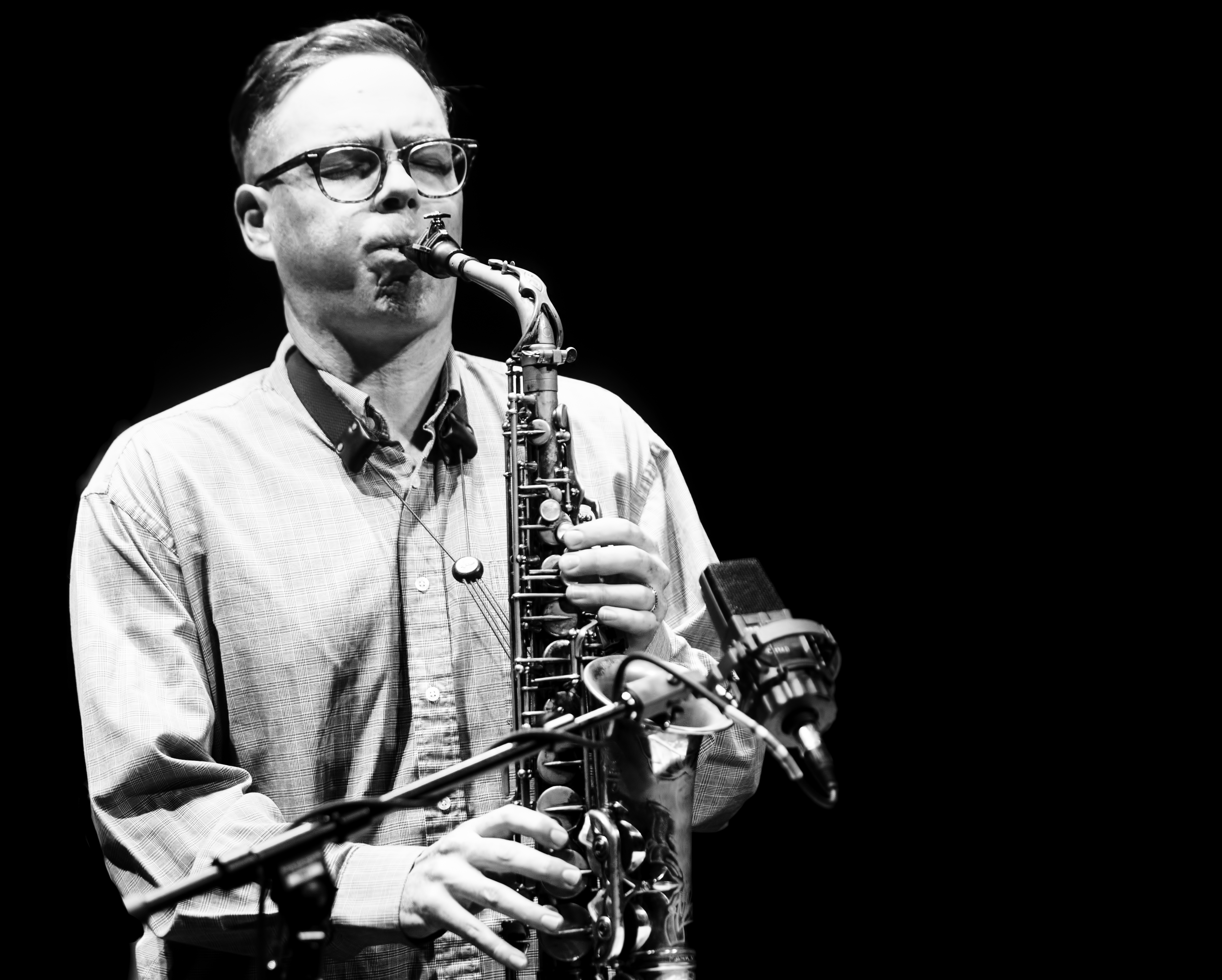 Brodie West with Quintet at the Guelph Jazz Festival 2019