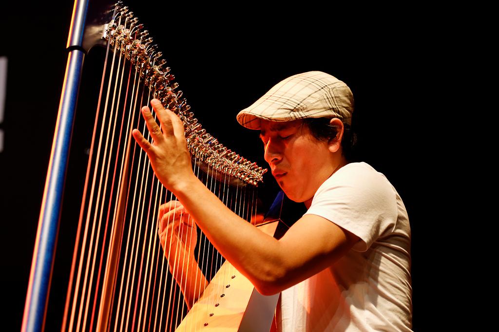 Edmar Castaneda Trio - Jazzahead 2012
