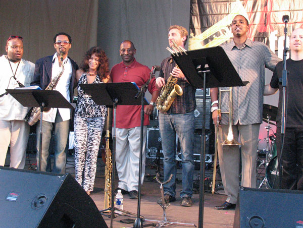 Michele Rosewoman and Quintessence Chicago Jazz Fest 2007