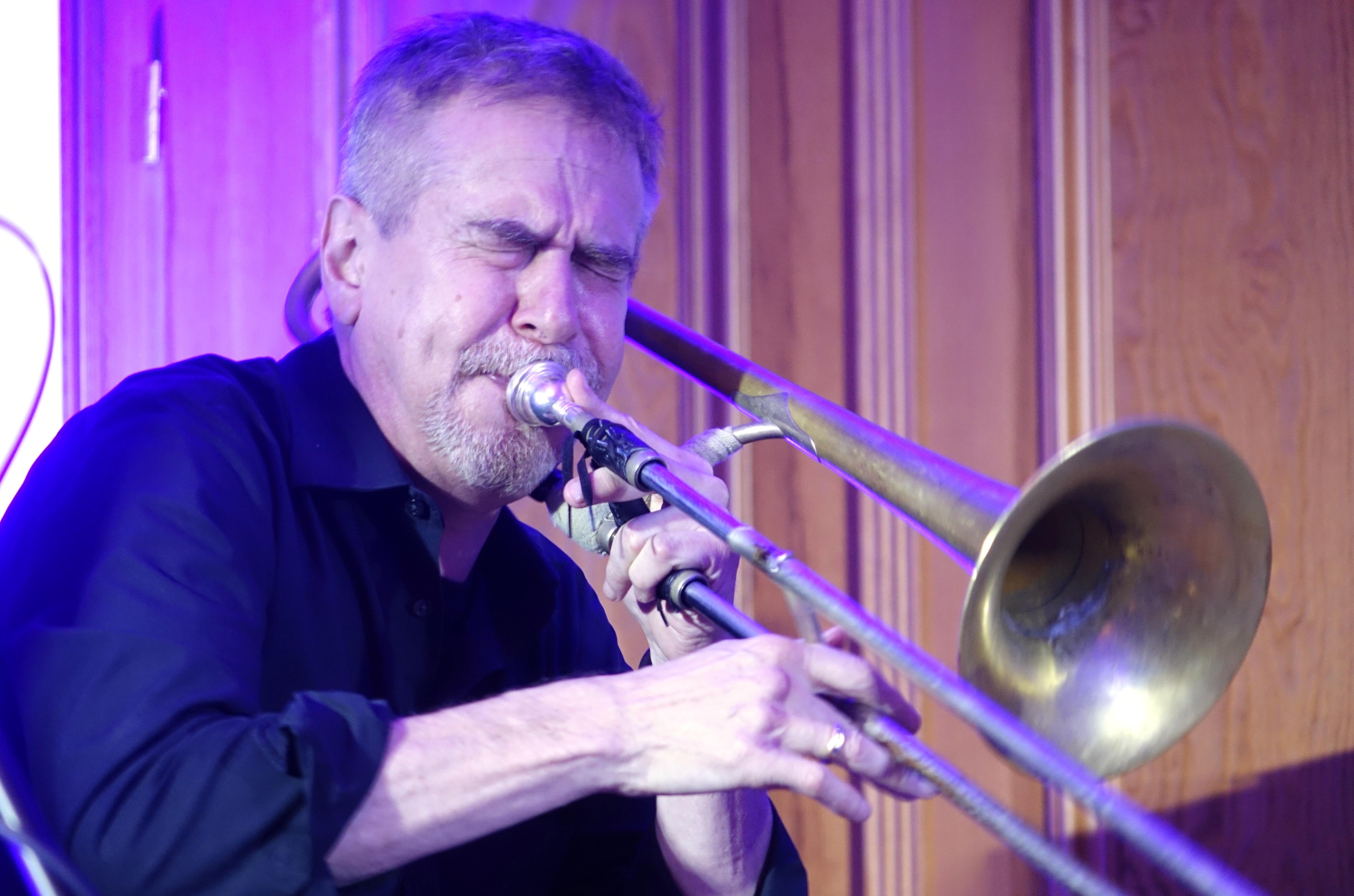 Steve Swell at Wlen, Poland on 23 September 2018