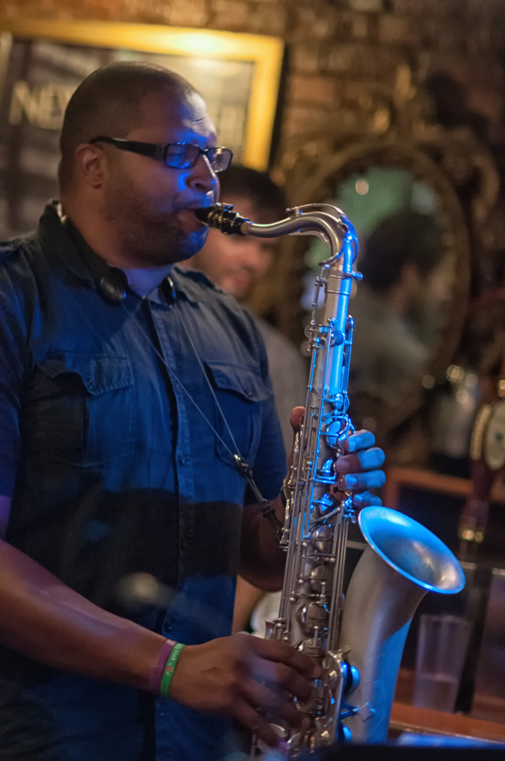 Jimmy greene with quincy davis quintet at smalls jazz club