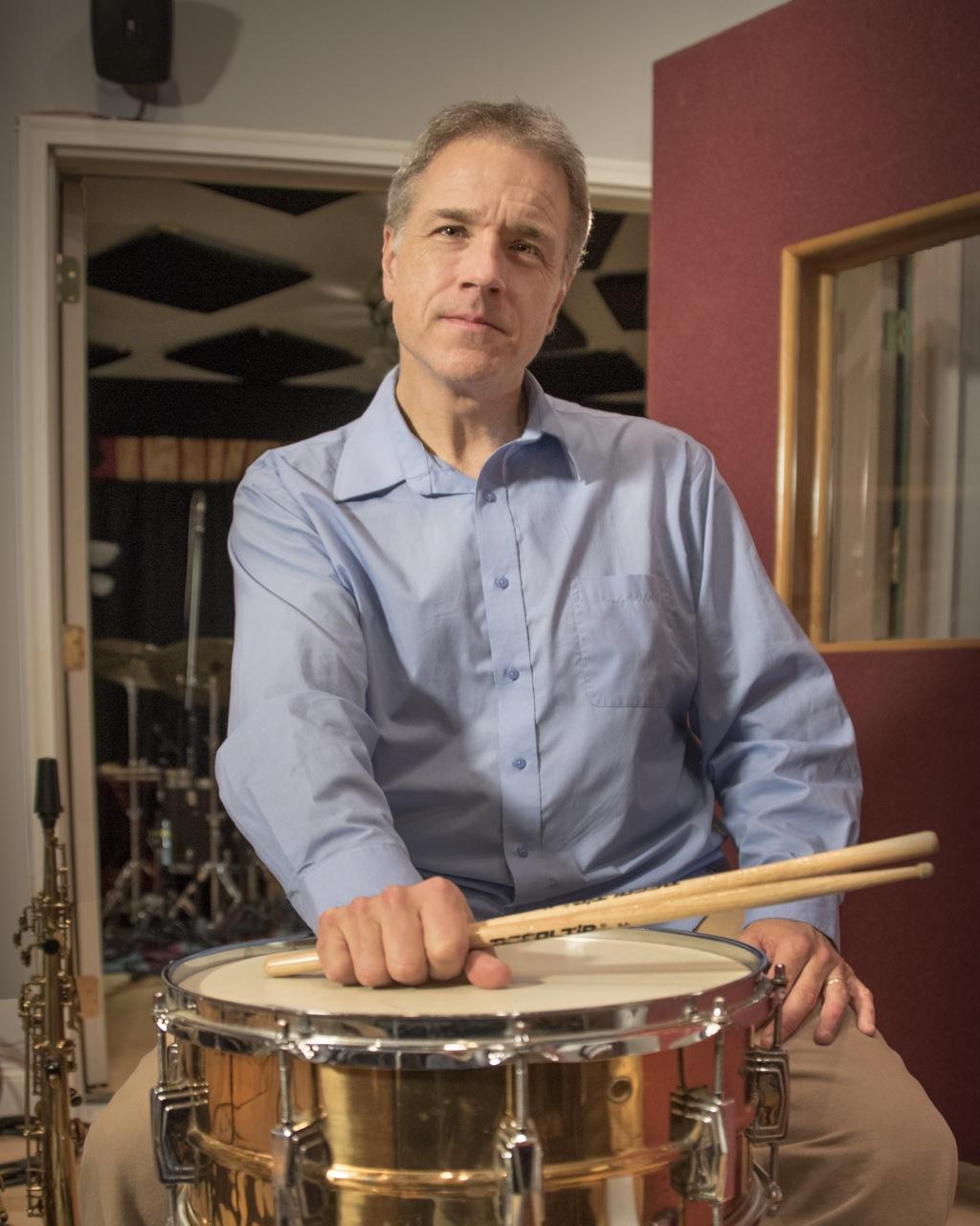 Scott Neumann In The Studio