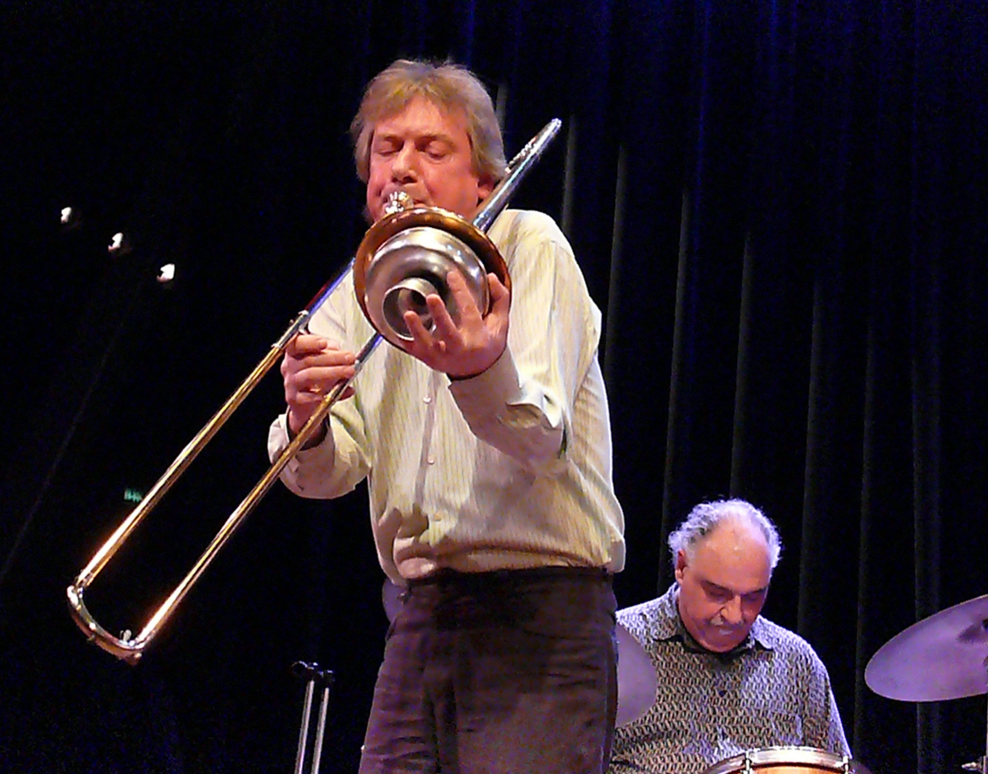 Johannes Bauer at the Bimhuis in Amsterdam, 13 February 2009