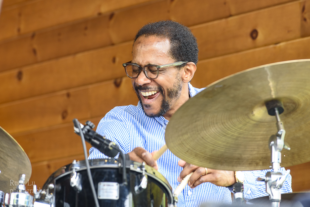 Brian Blade playing with Joel Harrison