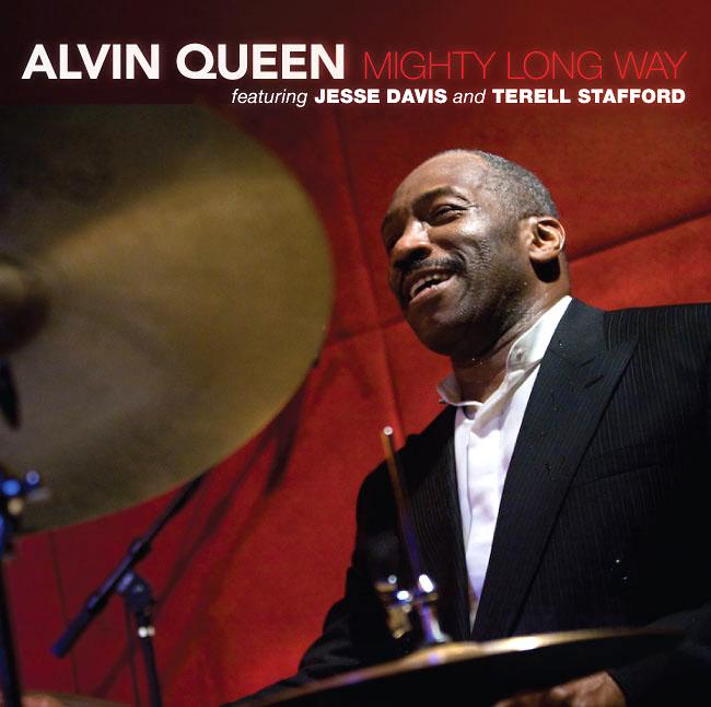 Alvin Queen, Mighty Long Way CD Cover