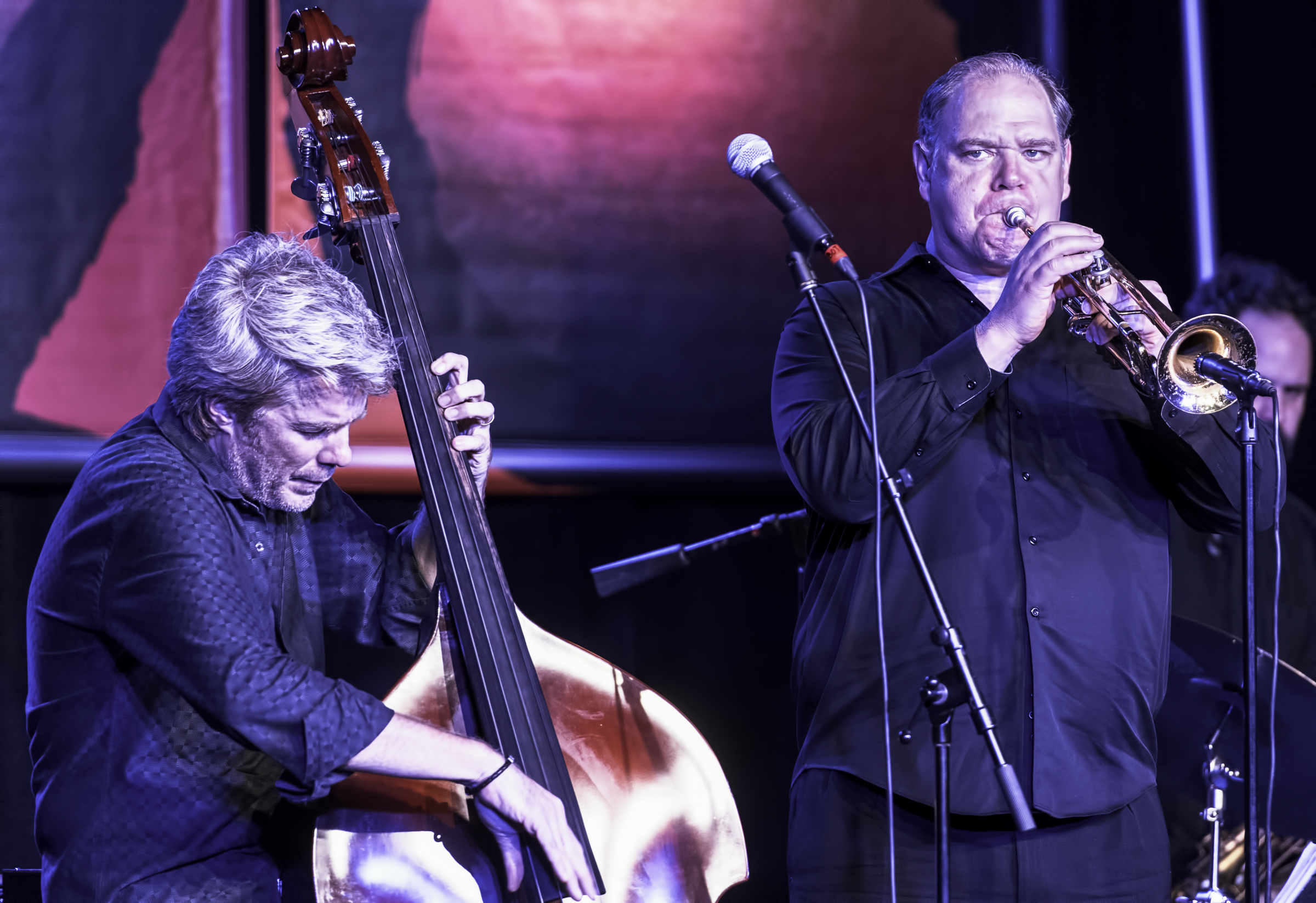 Kyle Eastwood and Alex Norris at the Monterey Jazz Festival