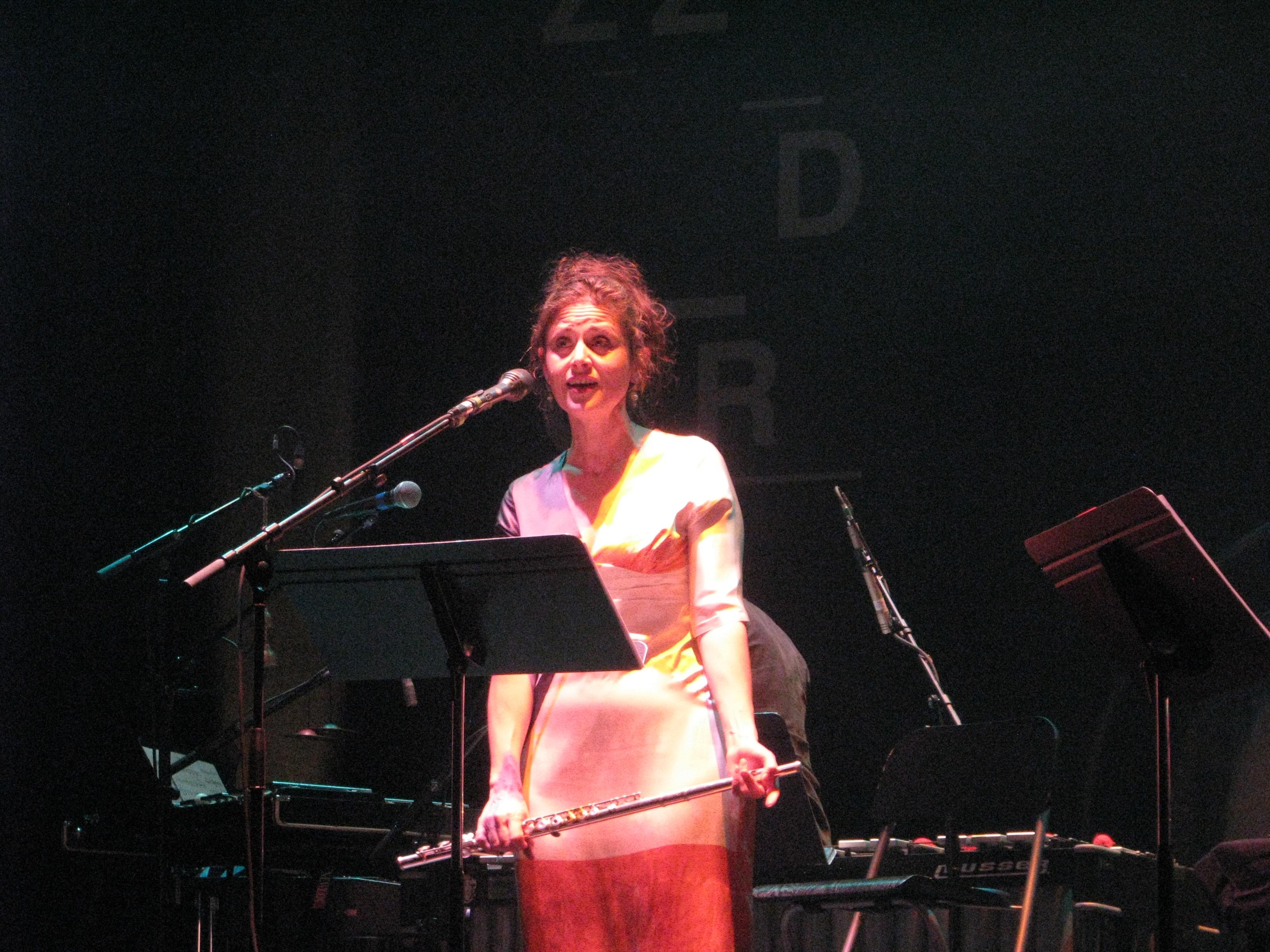 Géraldine Keller Jazzdor Strasbourg 2014