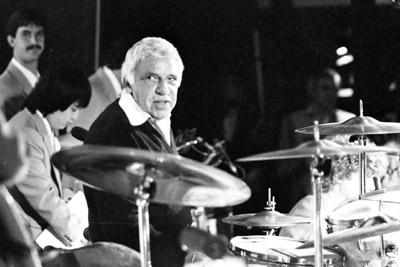 Buddy Rich 0429825 Lewisham Jazz Fest., Lewisham, London. 1986 Images of Jazz