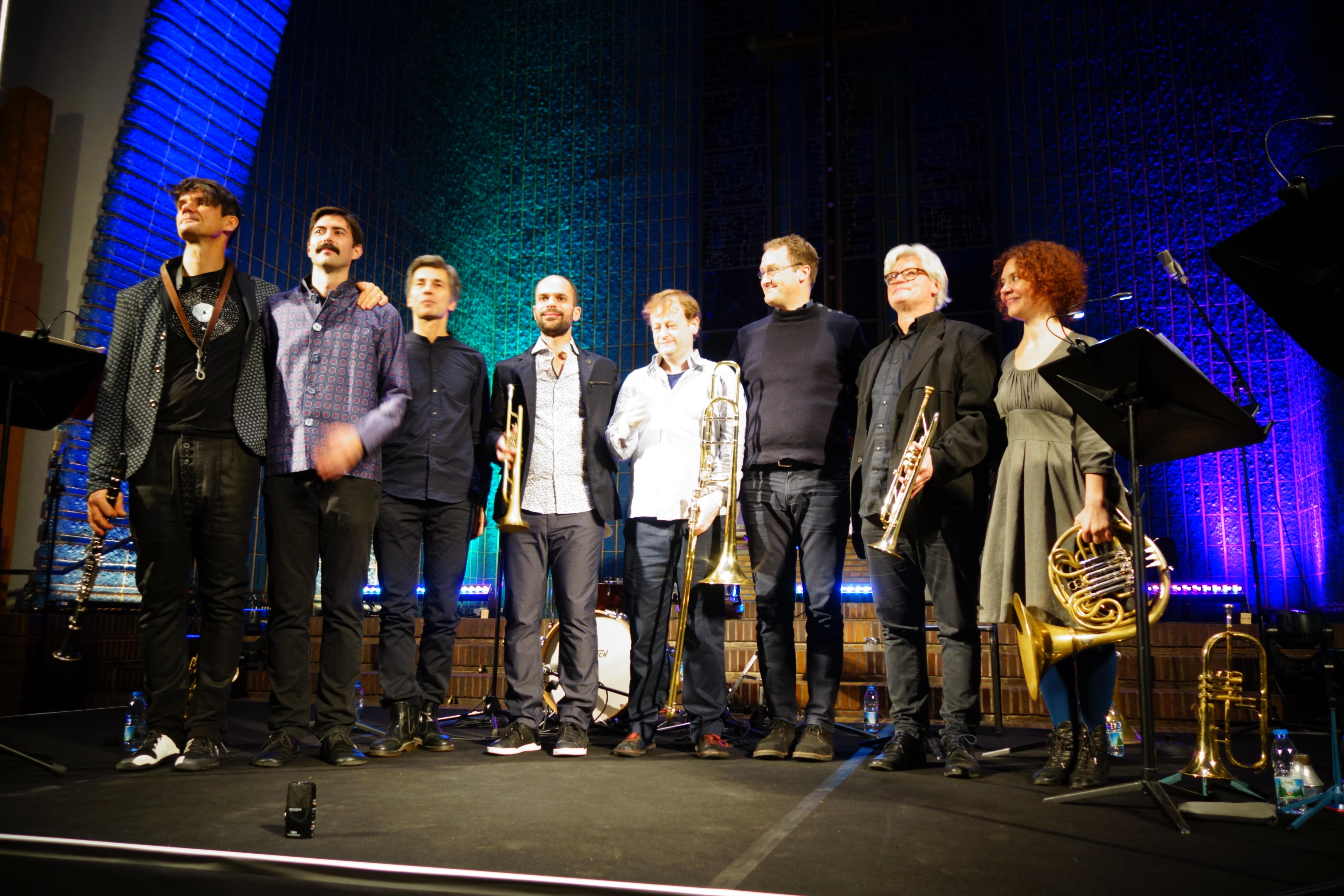 Amir ElSaffar + Zinc&Copper - Berlin Jazzfest 2017