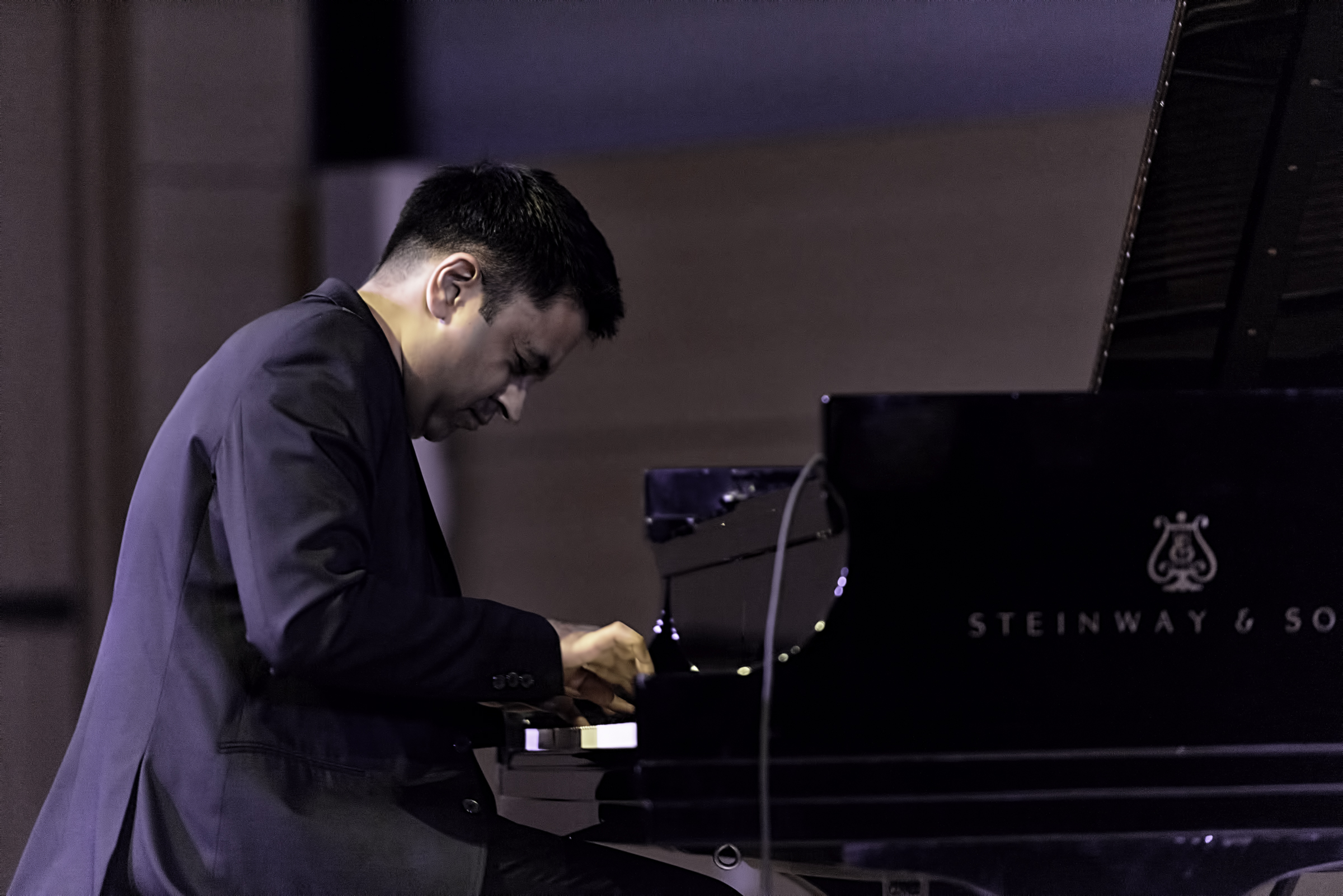 Vijay Iyer with Trio At The NYC Winter Jazzfest 2016