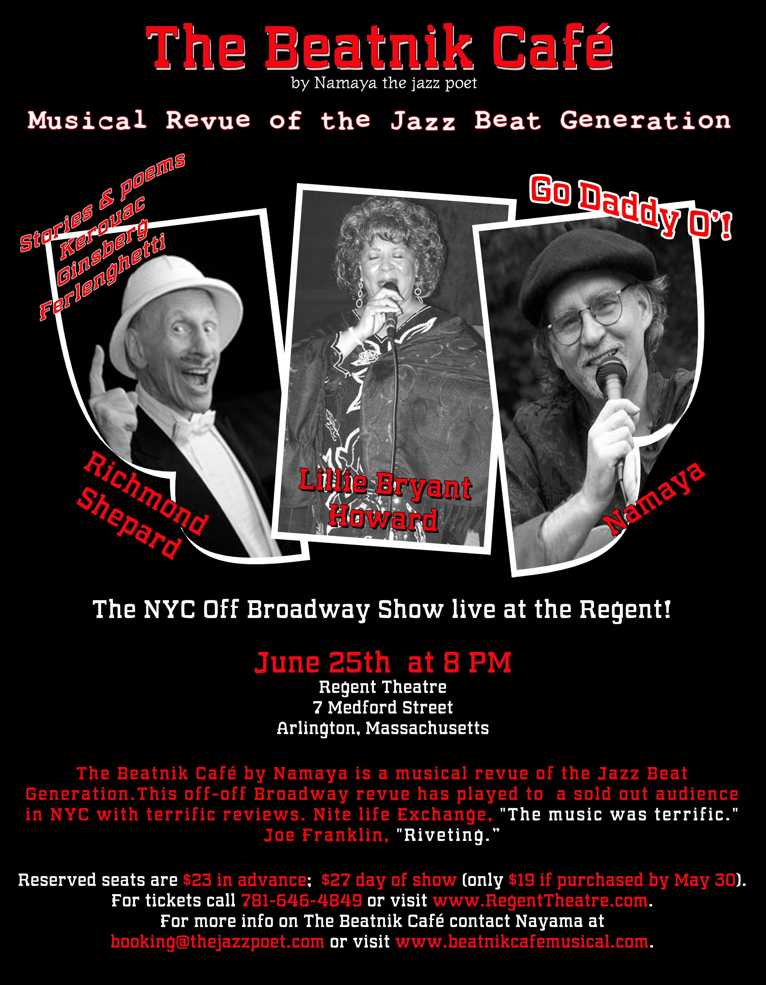 The Beatnik Cafe: Musical Revue of the Jazz Beat Generation