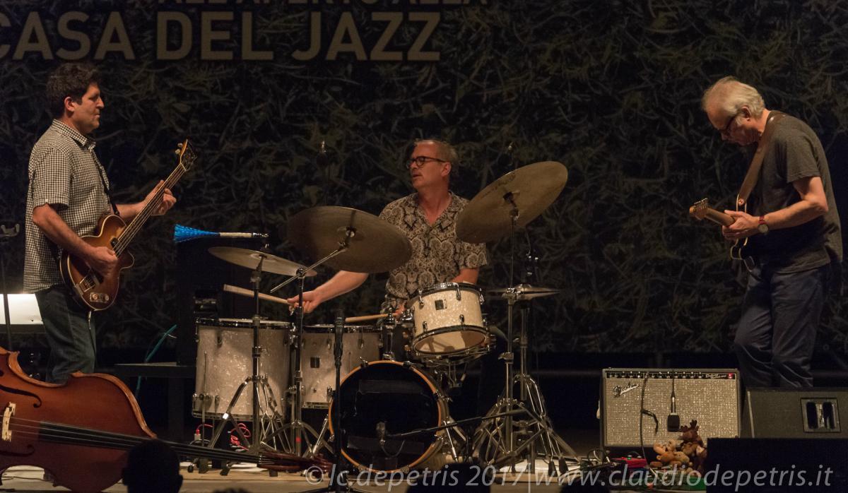 Bill Frisell Trio alla Casa del Jazz di Roma
