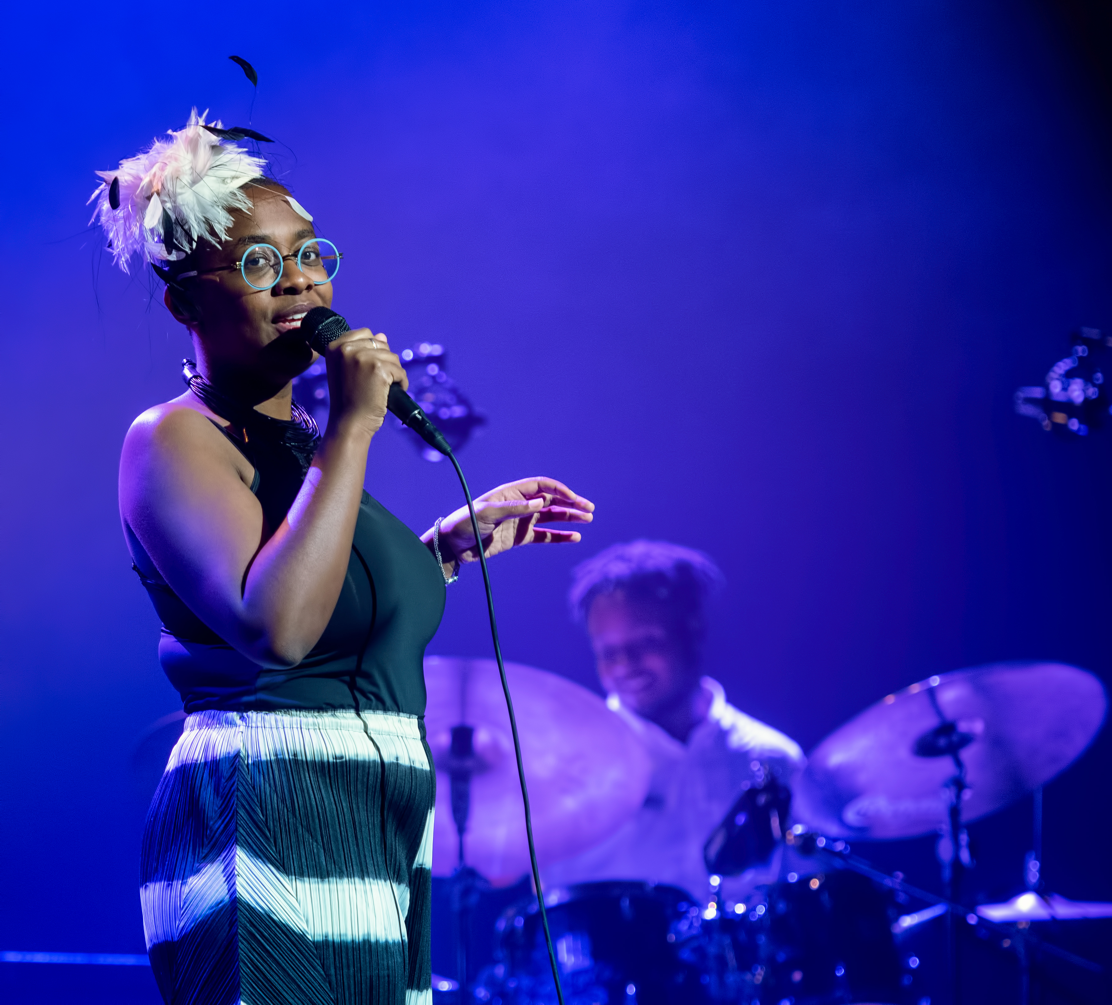 Cécile McLorin Salvant and Kyle Poole at The Montreal International Jazz Festival 2018
