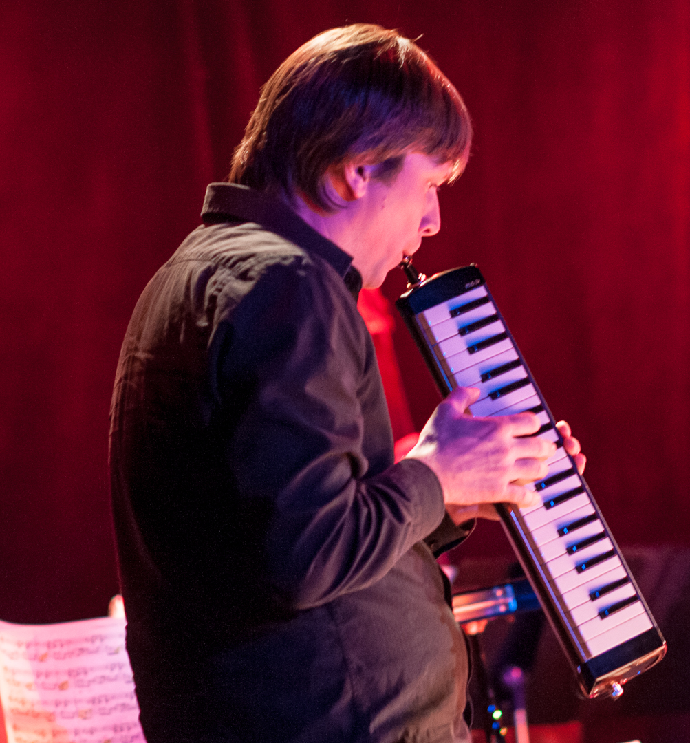 Gordon Webster with the Darcy James Argue's Secret Society at le Poisson Rouge