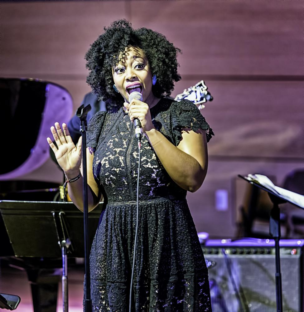 Alicia Olatuja With Songs Of Freedom  At The Nyc Winter Jazzfest 2017