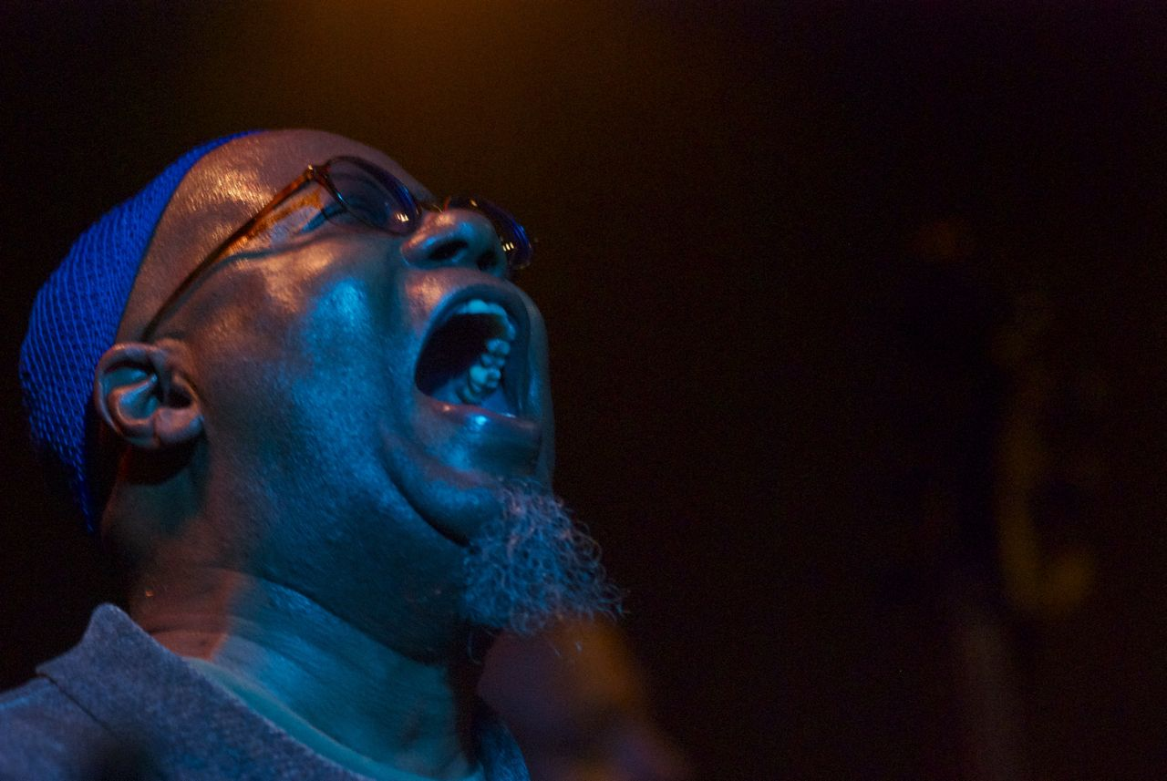 Dwight trible w/azar lawrence quartet @ rg club in venice, ca