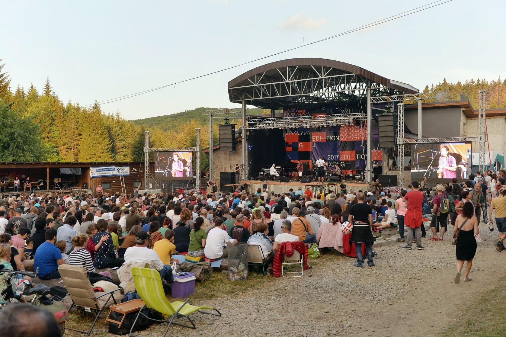 Audience at Garana Jazz Festival 2017