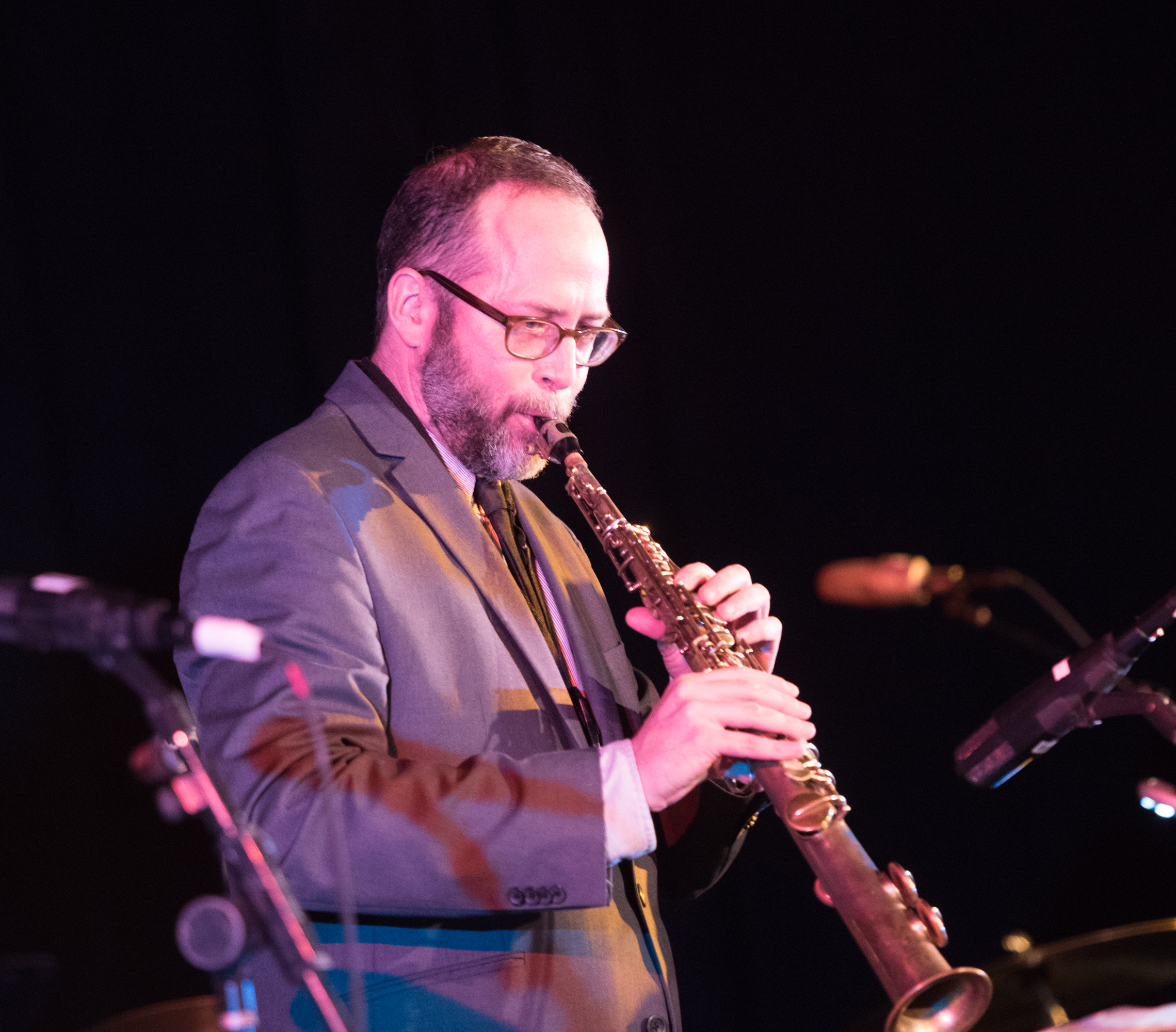 Michael Blake with Strange and Beautiful: the Music of John Lurie and the Lounge Lizards at the Nyc Winter Jazzfest 2015