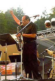 Ernie Watts at Jazz in Blue Jay Festival