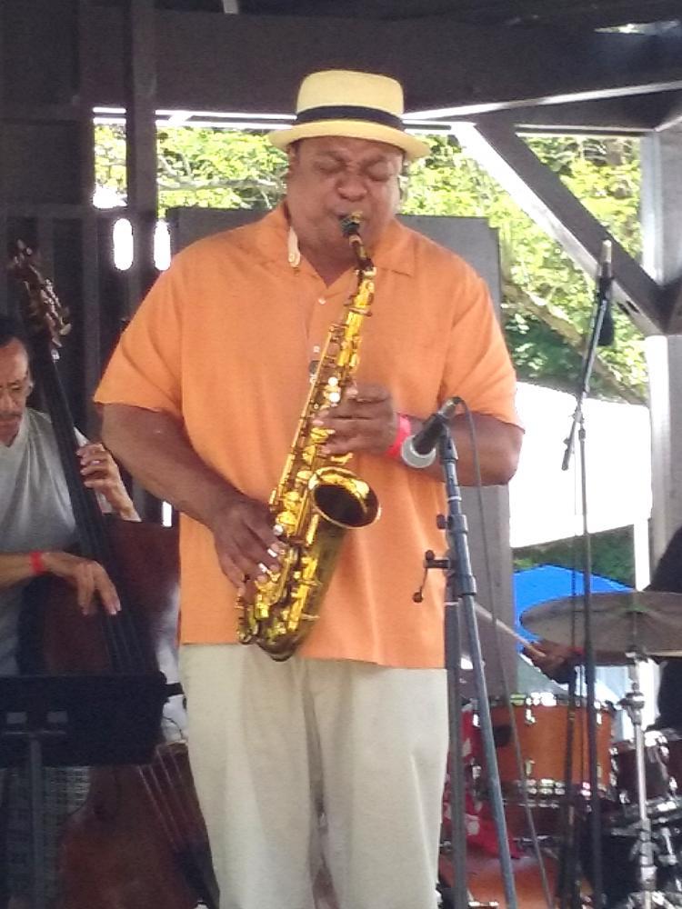 Vicent Herring at Freihofer's Saratoga Jazz Festival 2016