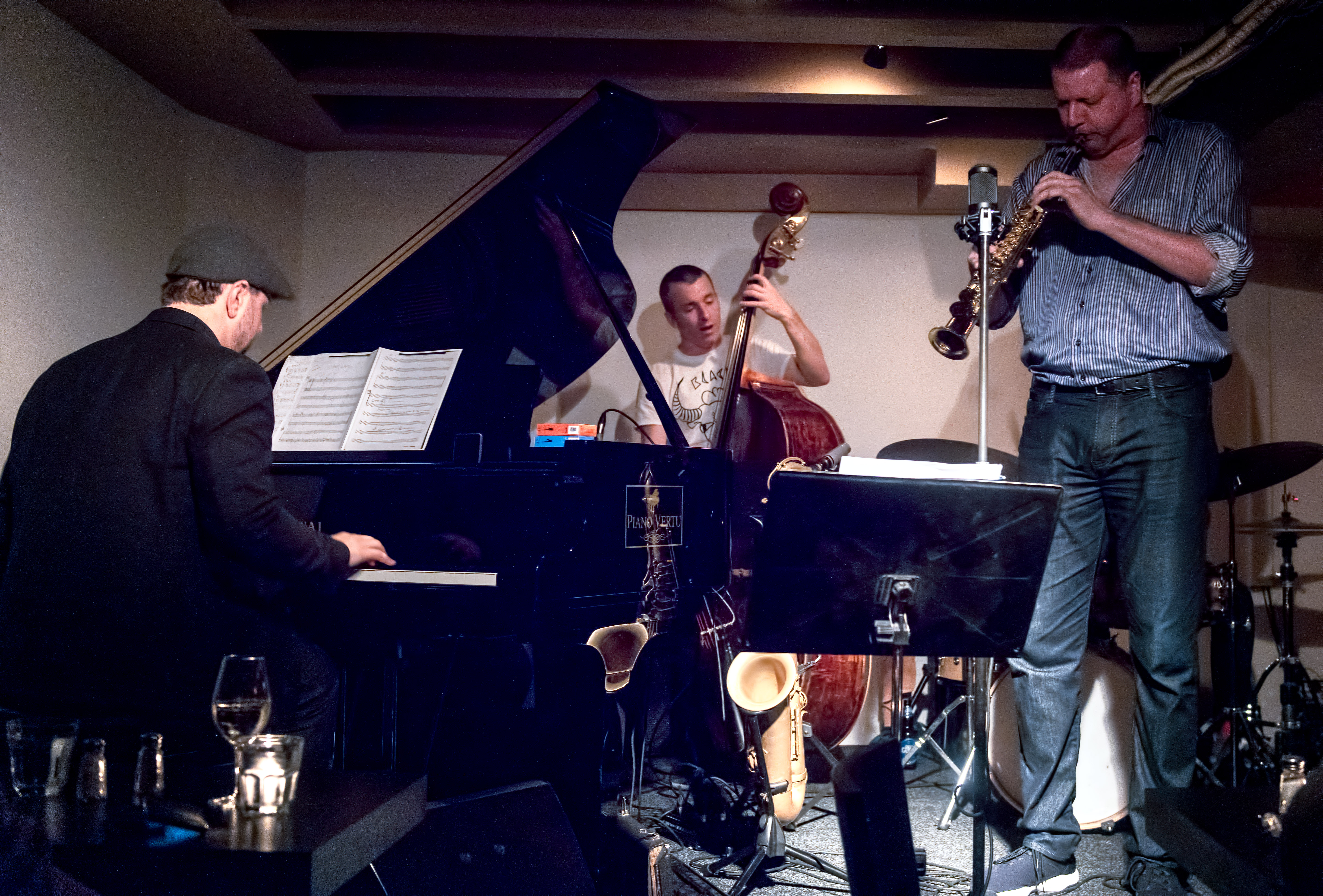 Paul Shrofel, Al Bourgeois, Remi-jean Leblanc And Al Mclean Pays Homage To Coltrane Plays The Blues At The Montreal International Jazz Festival 2018