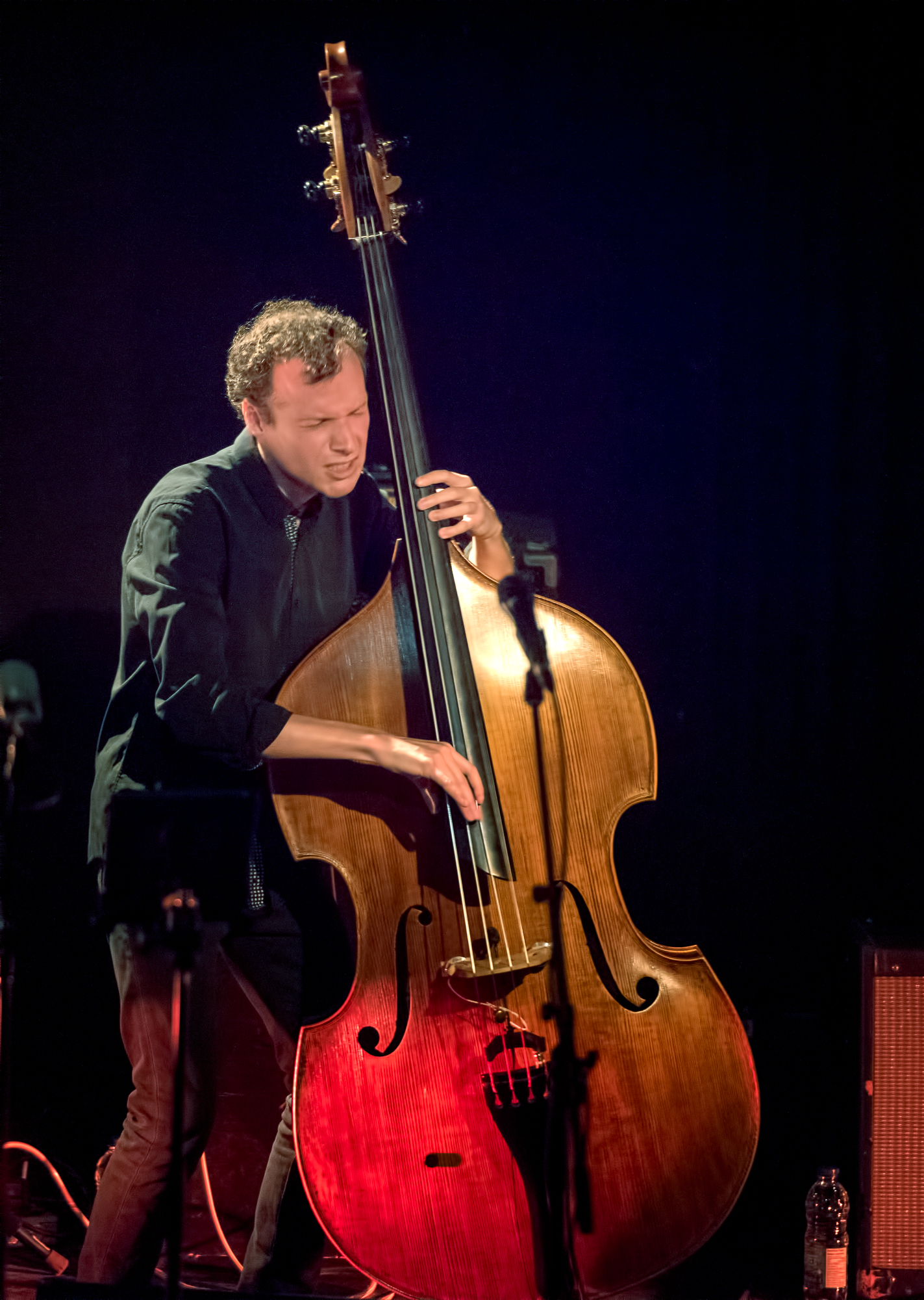 Nicolas Bedard with the Emie Rioux-Roussel Trio at The Montreal International Jazz Festival 2018