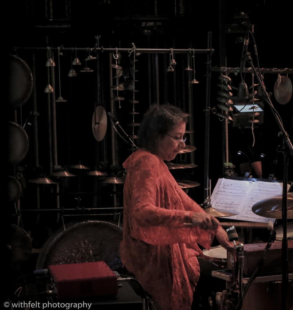 Marilyn Mazur at Sumer Jazz 2016 in Copenhagen