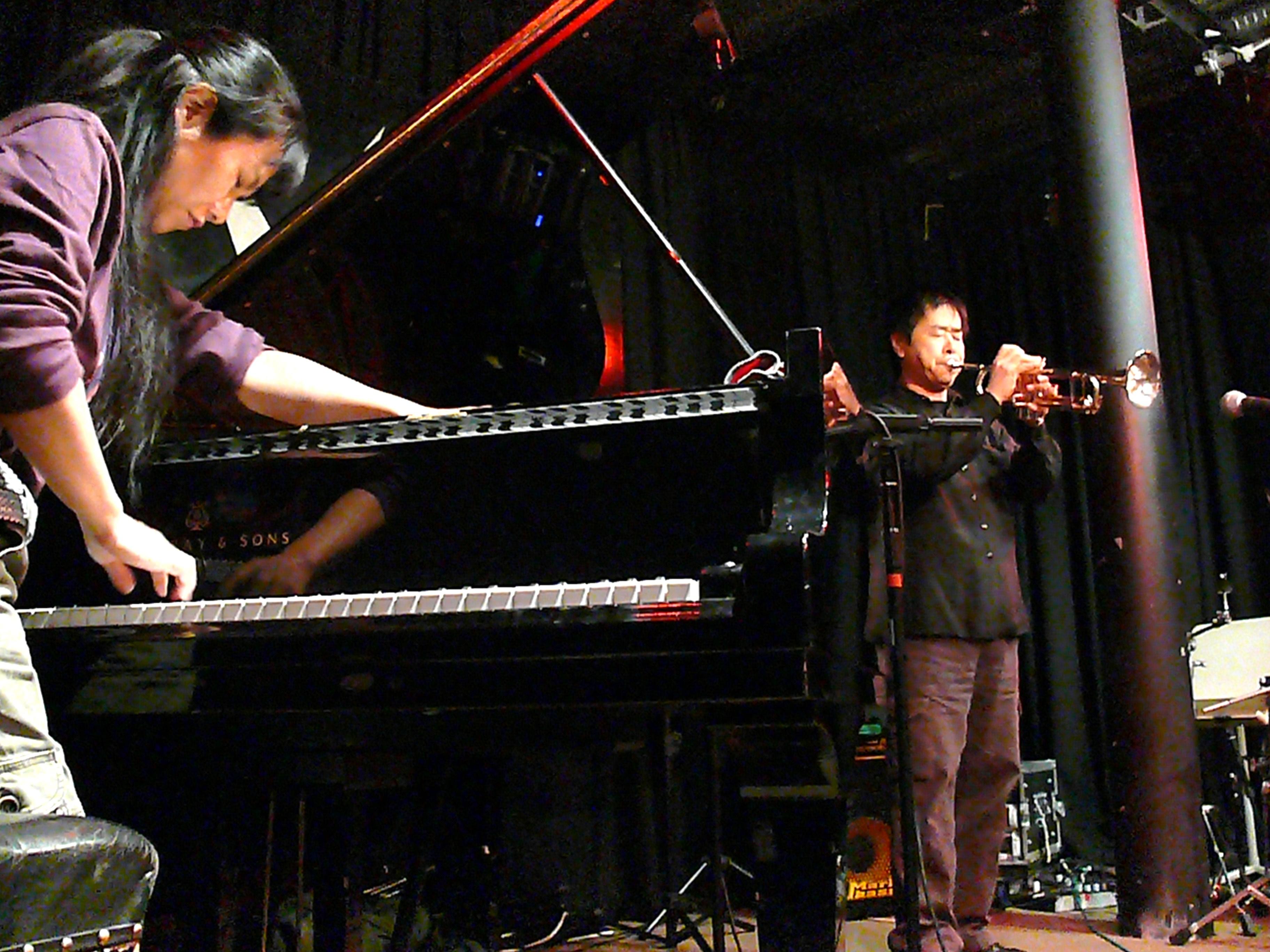Satoko Fujii and Natsuki Tamura at the Vortex, London, April 2010