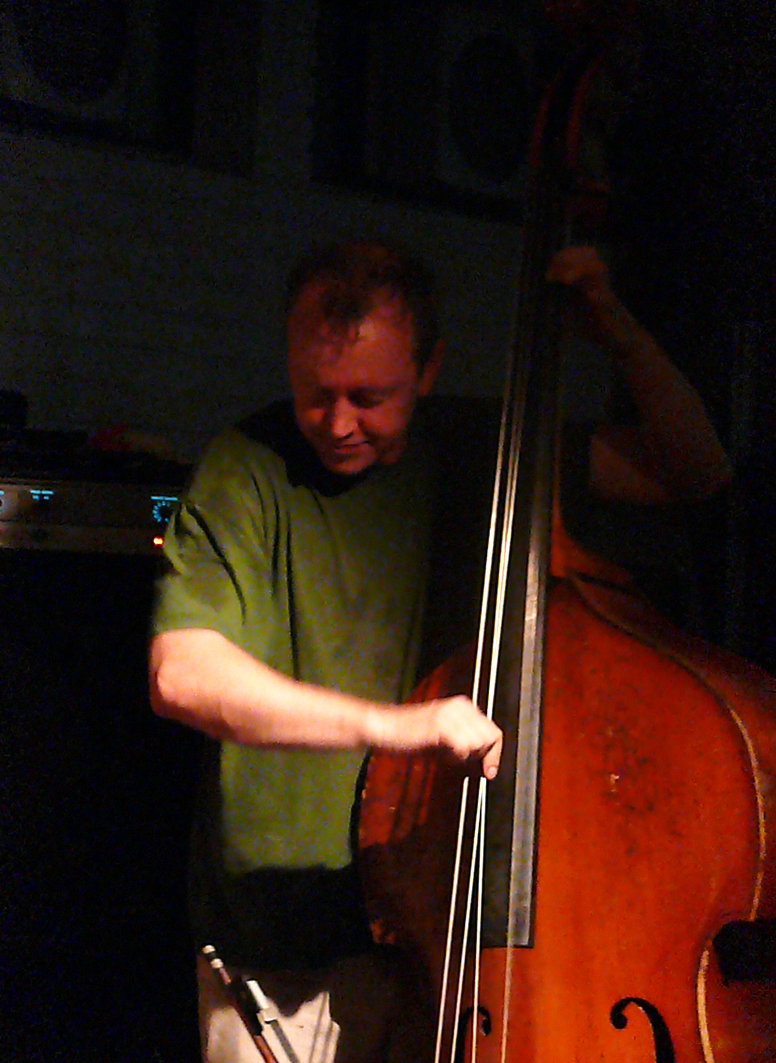 John Edwards at Cafe Oto, London in August 2010