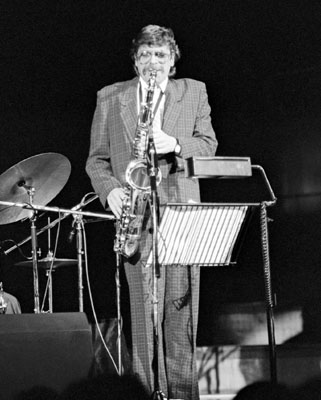 Alan Skidmore 0434205 Fairfield Halls, Croydon, UK. 1987 Images of Jazz