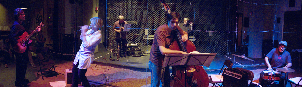 Ty Cumby's Musetry Project with Ellen Christi, Steve Dalachinsky, James Ilgenfritz, Eddy Rollin, Ravish Momin - Living Lab 2007